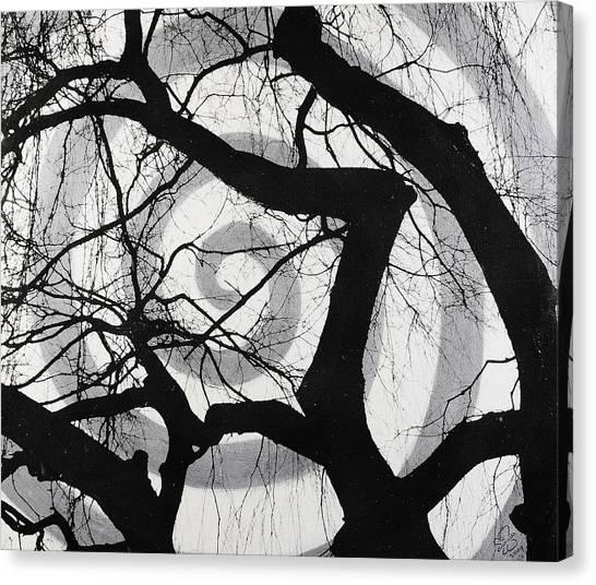 Treeman Canvas Print by Arnuda