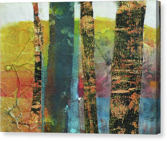 Trees Canvas Print - Trees by Melody Cleary