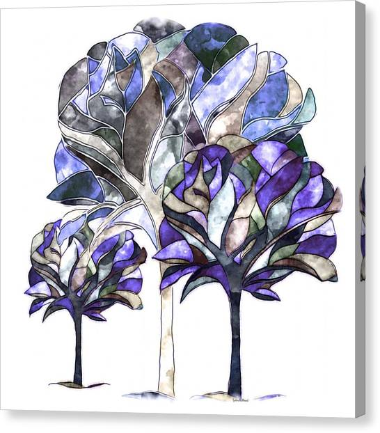 Trees Of Sadness Canvas Print