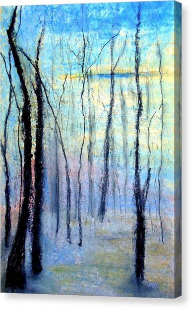 Treescape - Evening Canvas Print