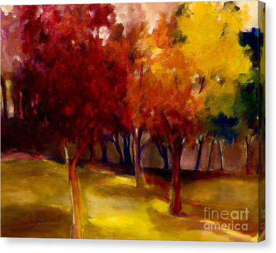 Treescape Canvas Print