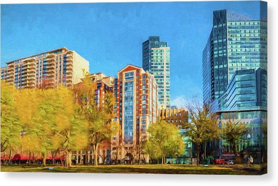 Tremont Street Canvas Print