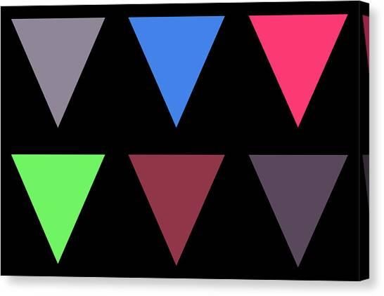 Triangle - Zentao Canvas Print