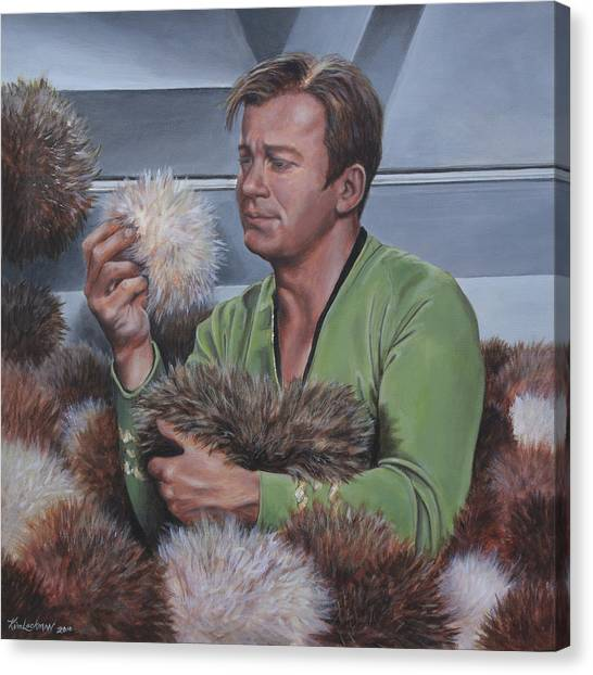 Tribble Trouble Canvas Print