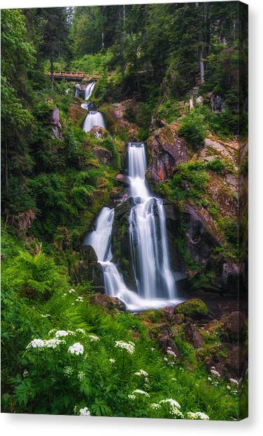 Triberg Waterfalls Canvas Print