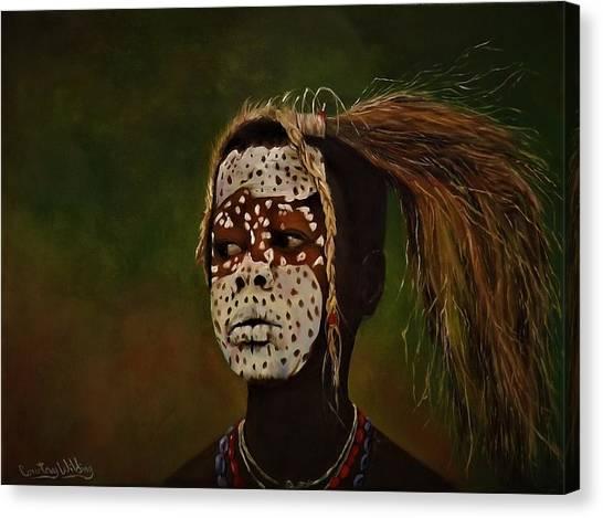 Tribesman  Canvas Print