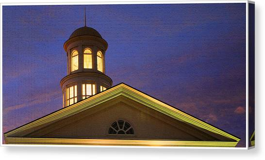 Trible Library Dome Canvas Print