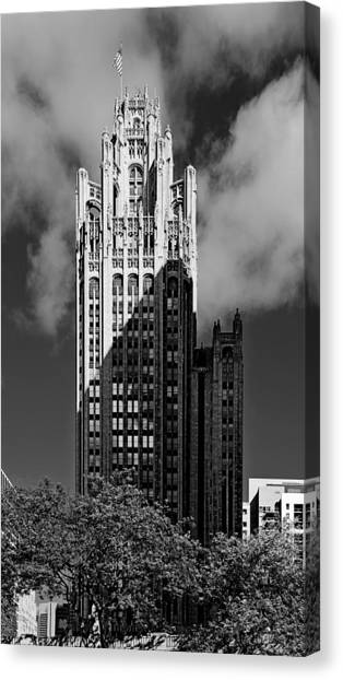 Tribune Tower 435 North Michigan Avenue Chicago Canvas Print