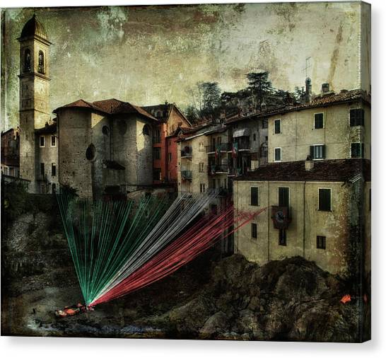 Tribute To Italy Canvas Print