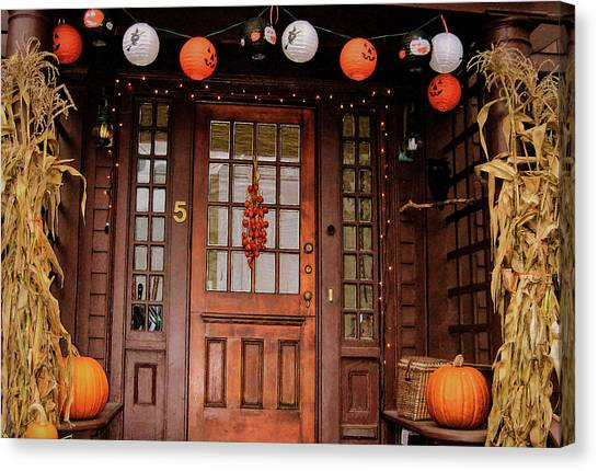 Trick Or Treat   Canvas Print by JAMART Photography