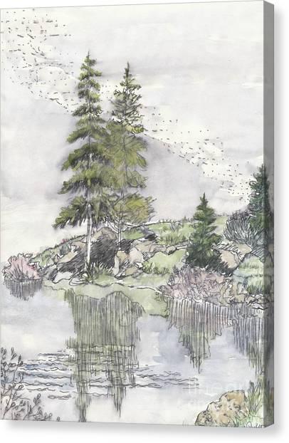 Trickle Park Colorado Canvas Print