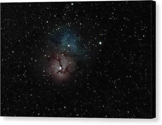 Trifid Nebula Canvas Print