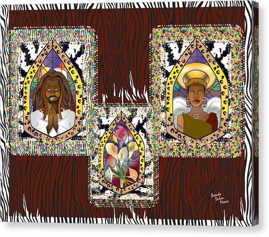 Trilogy Canvas Print