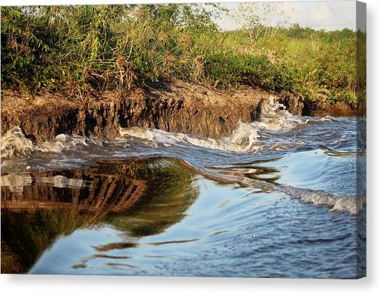Trinidad Water Reflection Canvas Print