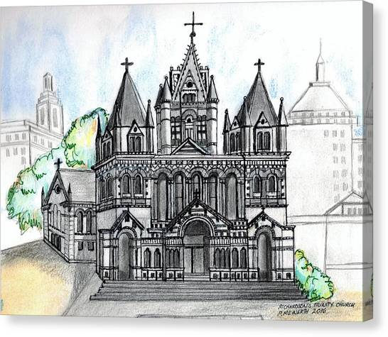 Trinity Church Boston Canvas Print