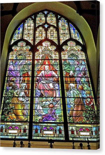 Trinity Church Galveston Canvas Print