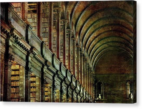 Trinity College Library Canvas Print