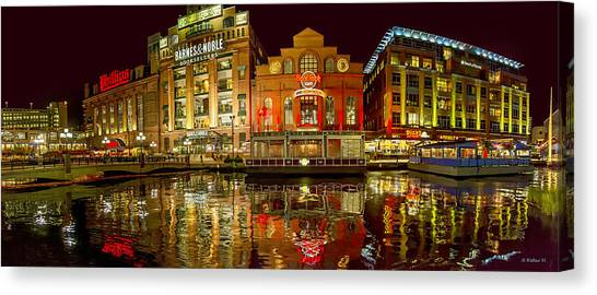 Tripping The Lights - Pano Canvas Print