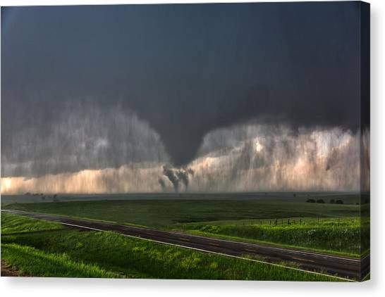 Tripple Vorticies Canvas Print