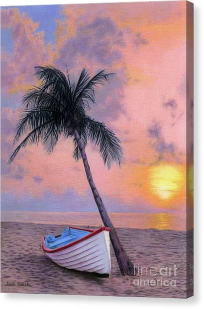 Hawaii Canvas Print - Tropical Escape by Sarah Batalka
