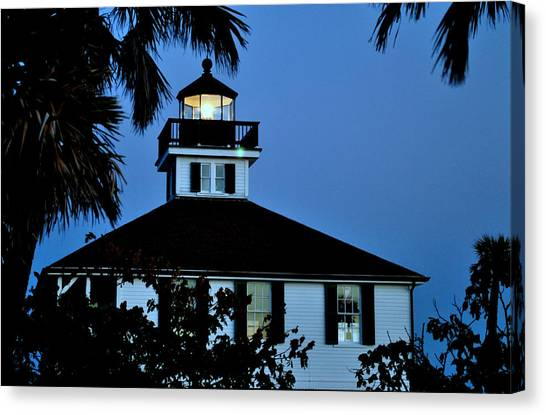 Tropical Evening Canvas Print by Steven Scott