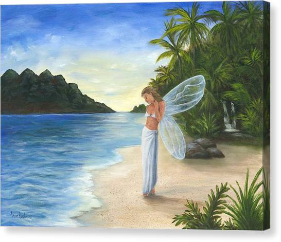 Canvas Print - Tropical Fairy by Anne Kushnick