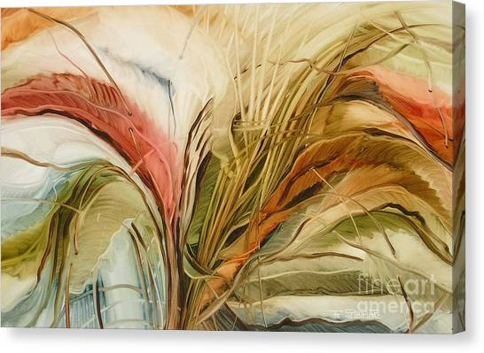 Tropical Forest Canvas Print by Fatima Stamato