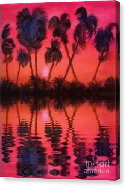 Tropical Heat Wave Canvas Print