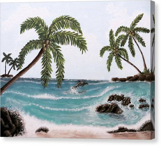Tropical Paradise Canvas Print