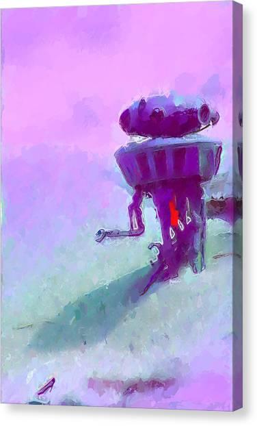 Canvas Print - Tropical Probe Droid by Modern Art
