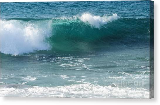 Tropical Treasure Coast Florida Seascape Wave 99 Canvas Print