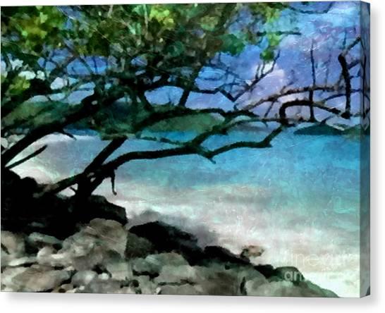 Tropical Utopia  Canvas Print