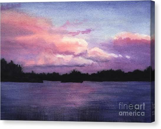 Trout Lake Sunset I Canvas Print