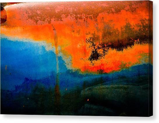 Truck Rust Canvas Print