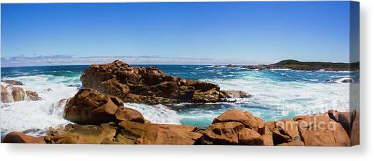 Boulder Canvas Print - True Blue Aussie Coastline by Jorgo Photography - Wall Art Gallery