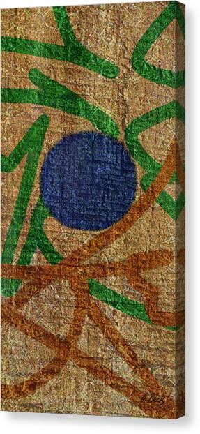 True Blue Canvas Print by Gordon Beck