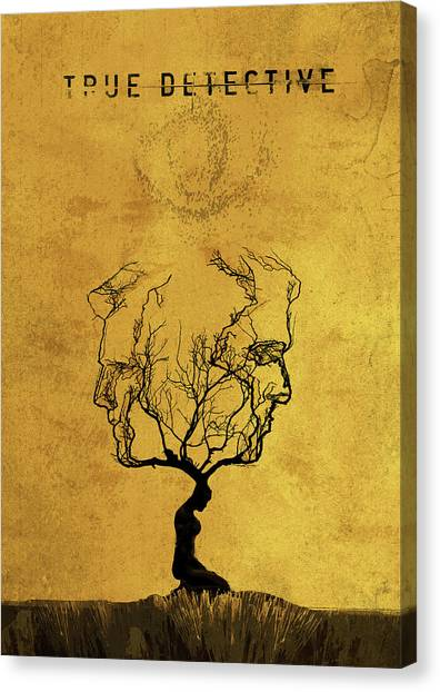 True Detective Tv Show  Canvas Print