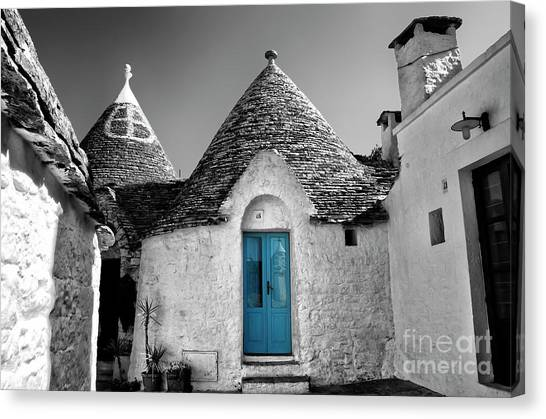 Trulli Canvas Print by Alessandro Giorgi Art Photography