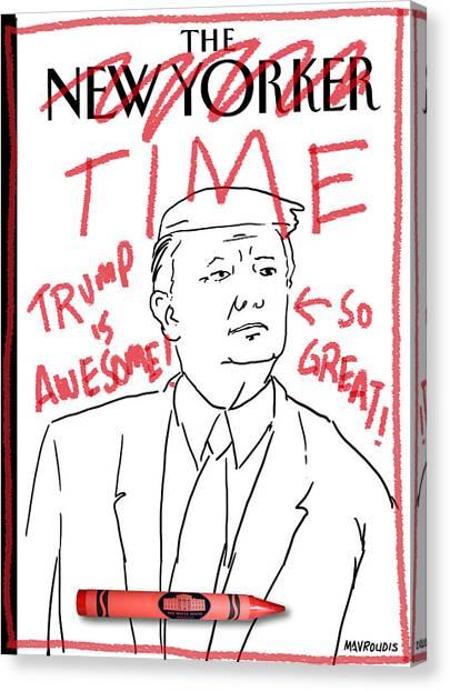 Trump Time Canvas Print