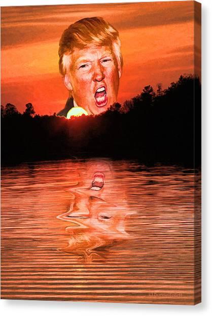 Trumpset 3 Canvas Print