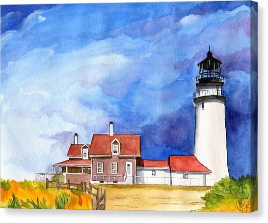 Truro Lighthouse Canvas Print