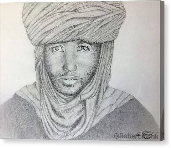 Tuareg Beduin Canvas Print