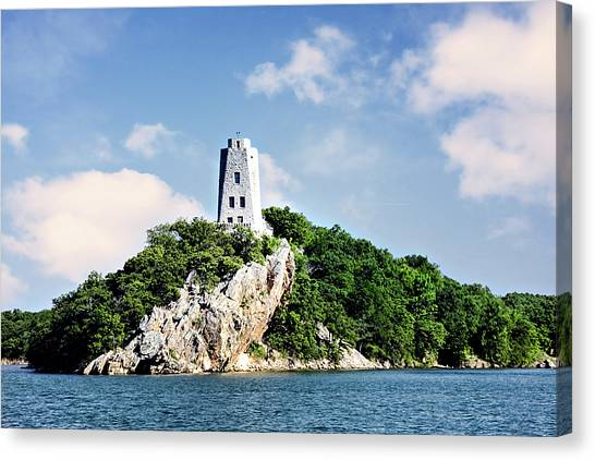 Tucker Tower 2 Canvas Print