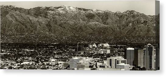 Canvas Print featuring the photograph Tucson  by Elaine Malott