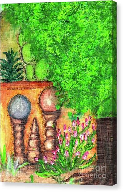 Tucson Garden Canvas Print