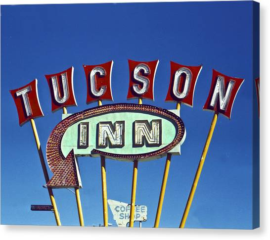 Tucson Inn Canvas Print