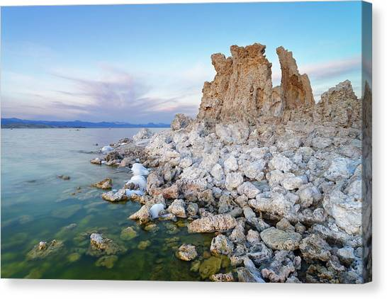Mono Lake - Tufa Canvas Print