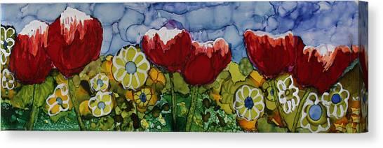 Tulip Bonanza Canvas Print
