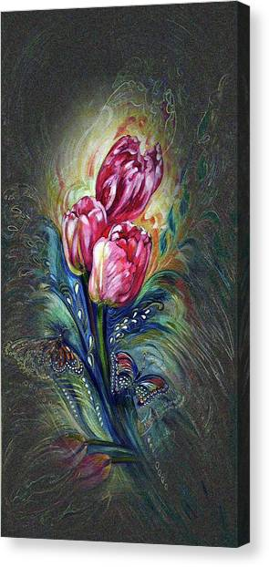Tulips Fantasy Canvas Print
