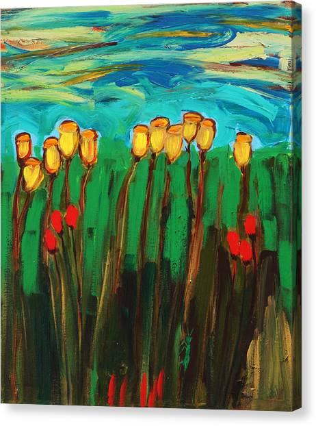 Tulips Canvas Print by Maggis Art